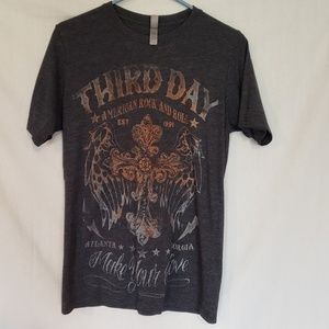 Tops - Third Day concert/tour tshirt